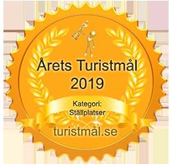 Årets turistmål 2019 - Kategori: Ställplatser